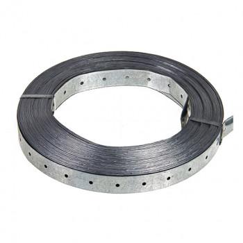 Монтажная лента стальная - 25 м - купить в интернет магазине, цена 280 руб., характеристики, фото, описание